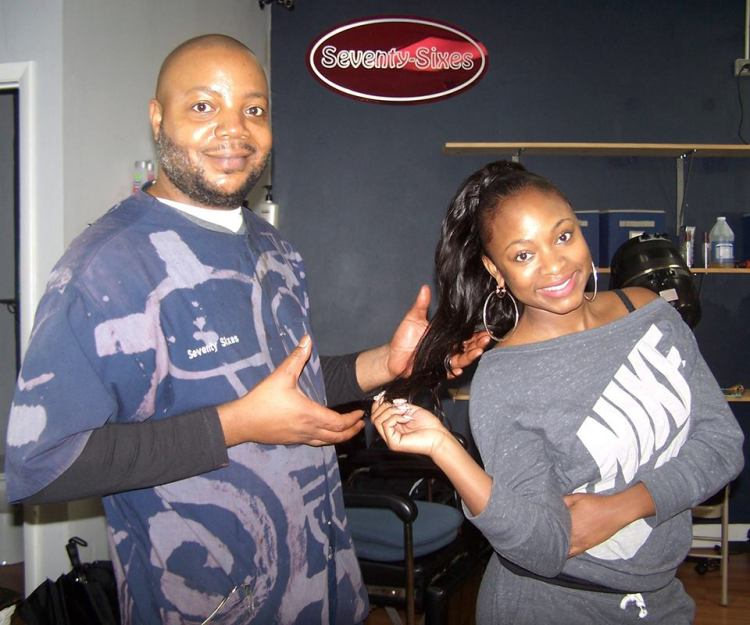 Anthony Smith finished prepping Naturi Naughton's hair before she flew down to a benefit in Atlanta.